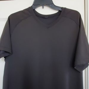 Lululemon v neck dri fit  t shirt size large